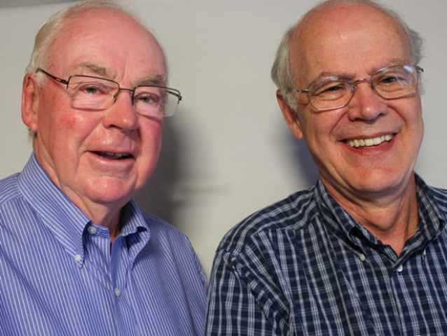 Jack Briggs and Ken Robertson