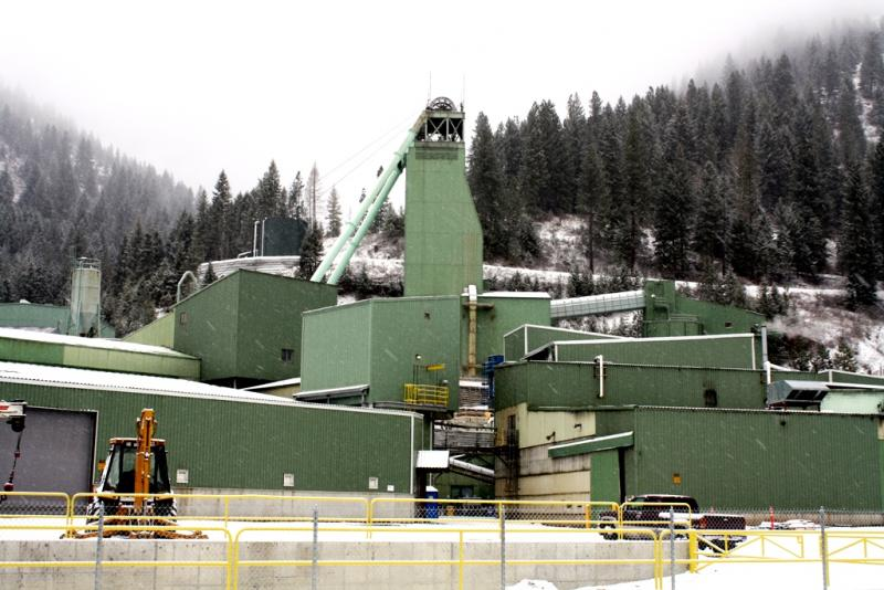 The Lucky Friday Mine in Mullan, Idaho is closed while workers make federally mandated repairs.