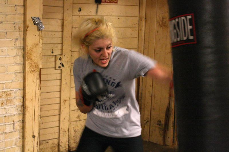 Maira Madrigal, 24, of Wenatchee trains in hopes of boxing in the 2012 Olympics.