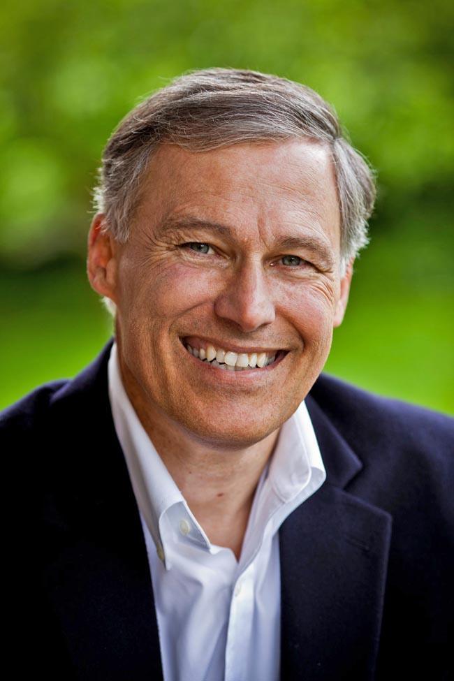 Washington gubernatorial candidate Jay Inslee