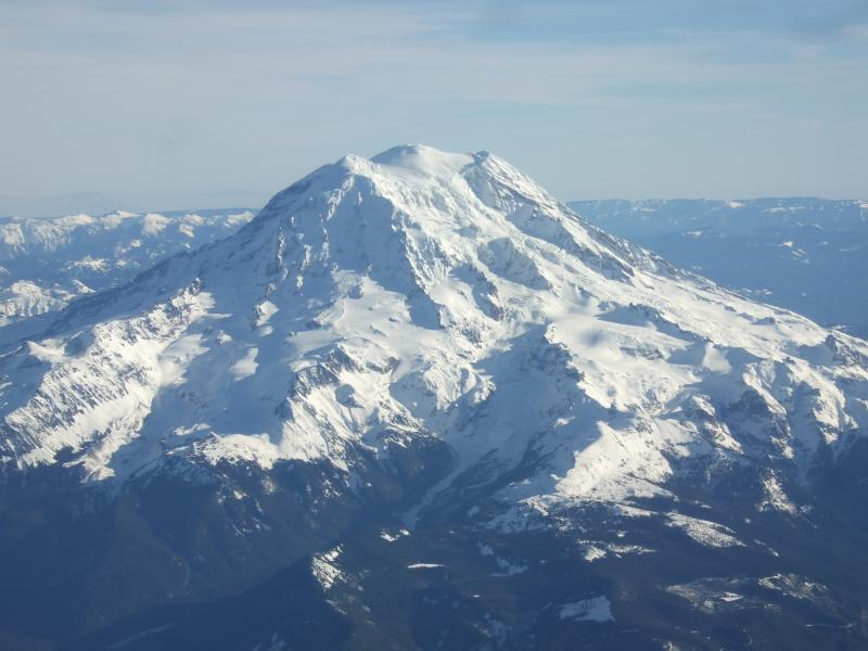 Puyallup tribe members want to change the name of Mount Rainier back to its native name, Ti'Swaq'