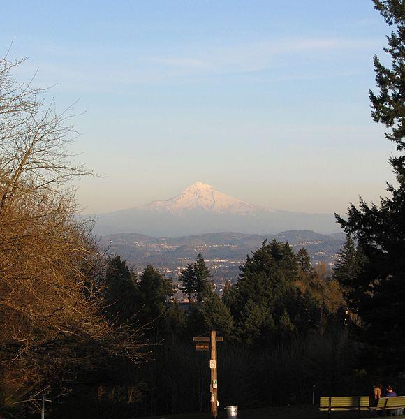 Mt. Hood erupts less explosively than other Cascade mountains.