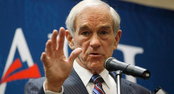 Republican presidential candidate Ron Paul.