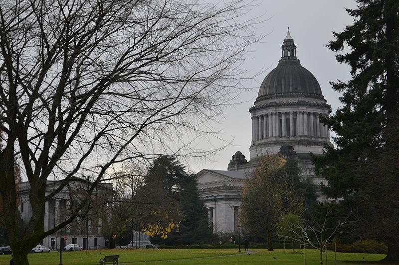 Washington State Capitol Building in Olympia, Wash.