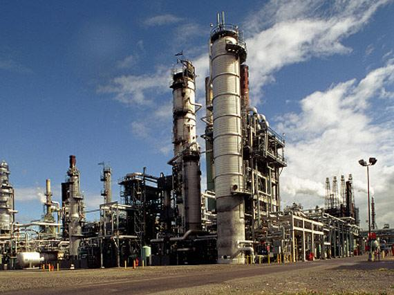 BP's Cherry Point oil refinery. ©BP p.l.c.