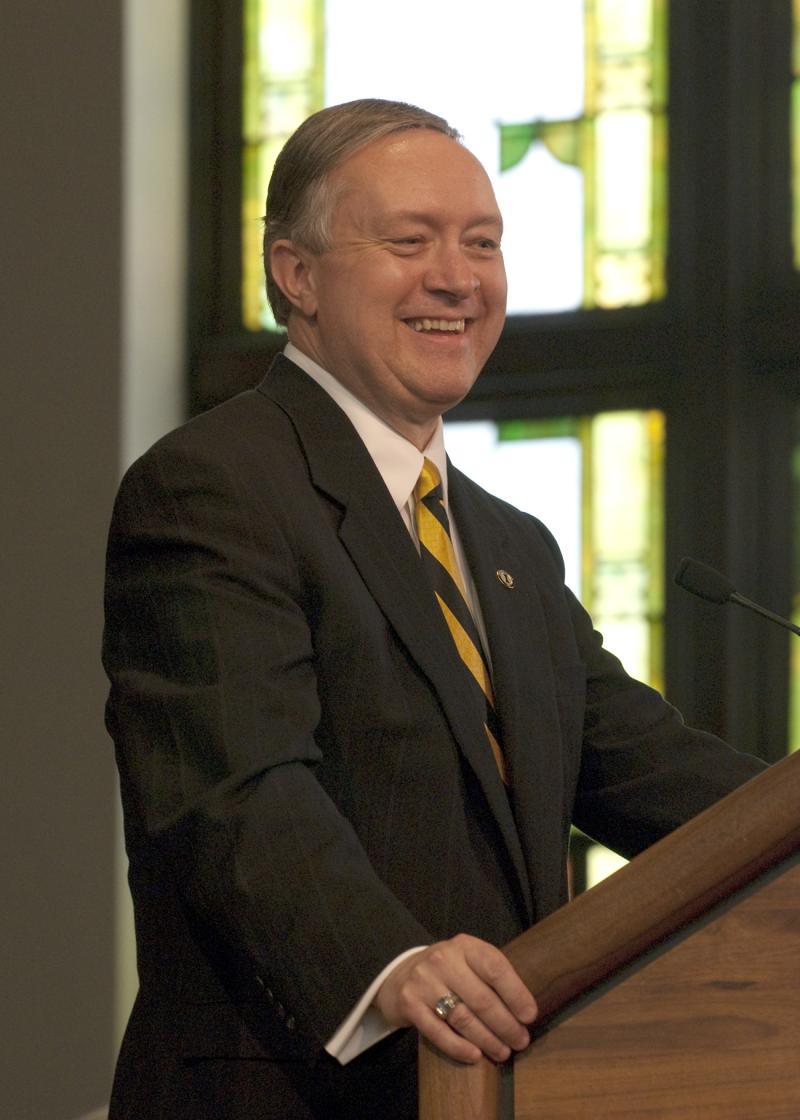 University of Idaho president Duane Nellis.