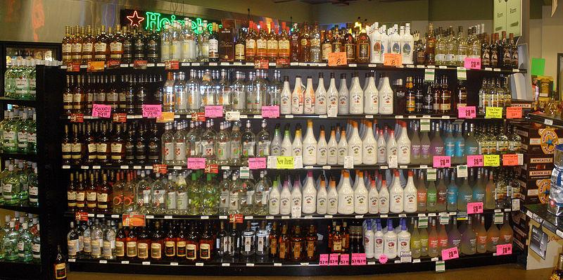 As Washington moves to private sales of hard liquor, Oregon is not yet set for the same transition.