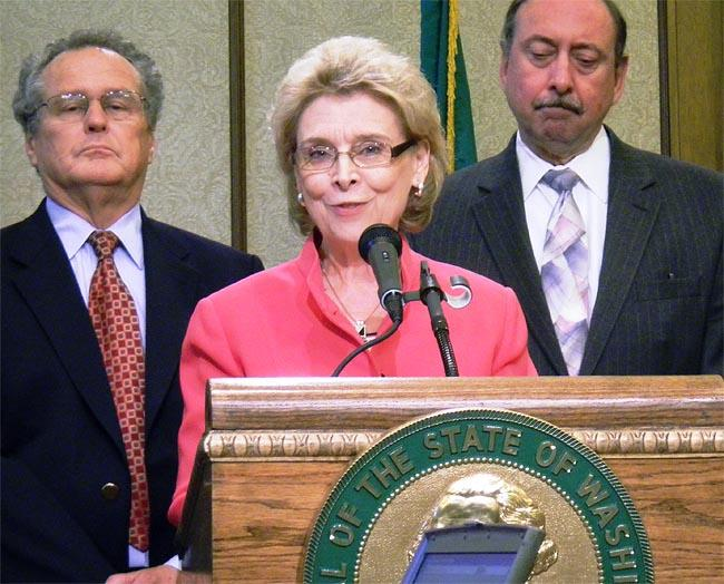 Washington Gov. Chris Gregoire comments on the Supreme Court's ruling on the Affordable Care Act.