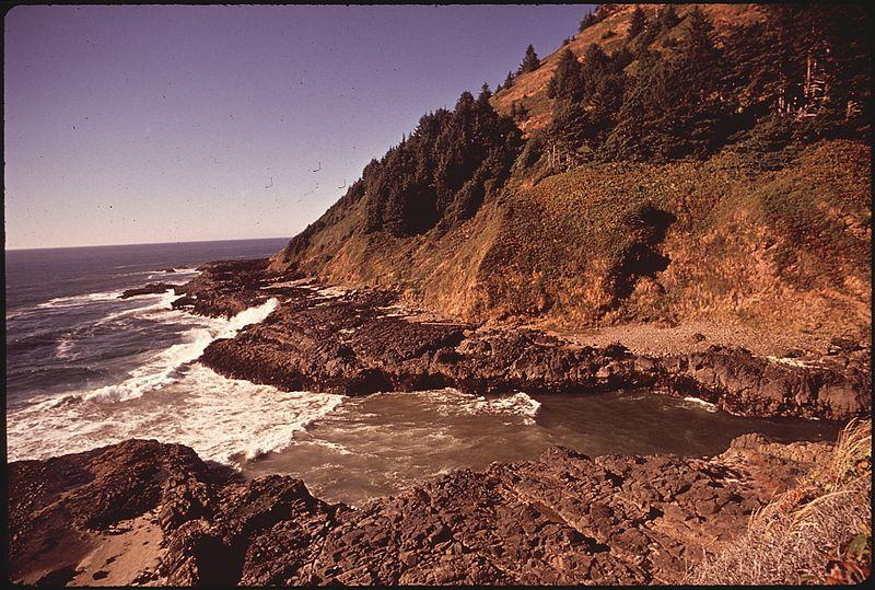 Cape Perpetua, the home of one of the new marine reserves approved by the Oregon State Legislature.