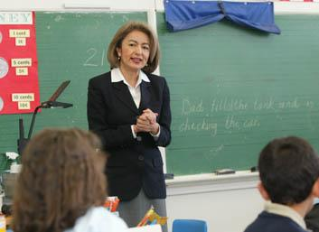 Oregon State Superintendent of Public Instruction Susan Castillo announced she will step down by the end of June. Photo courtesy of OPB