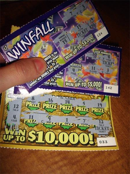 The Medford Police Department won part of a million dollar jackpot from the Oregon lottery due to an ill-gotten scratch-it.