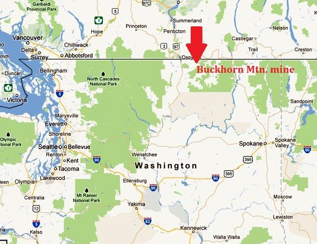 Washington's Department of Ecology has fined a gold mine in northeastern Washington for water quality violations.