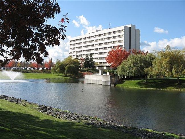 Madigan Army Medical Center located on Joint Base Lewis-McChord near Tacoma, Wash.