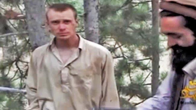 This screen grab from a December 2010 video appears to show Sgt. Bowe Bergdahl in Taliban captivity.