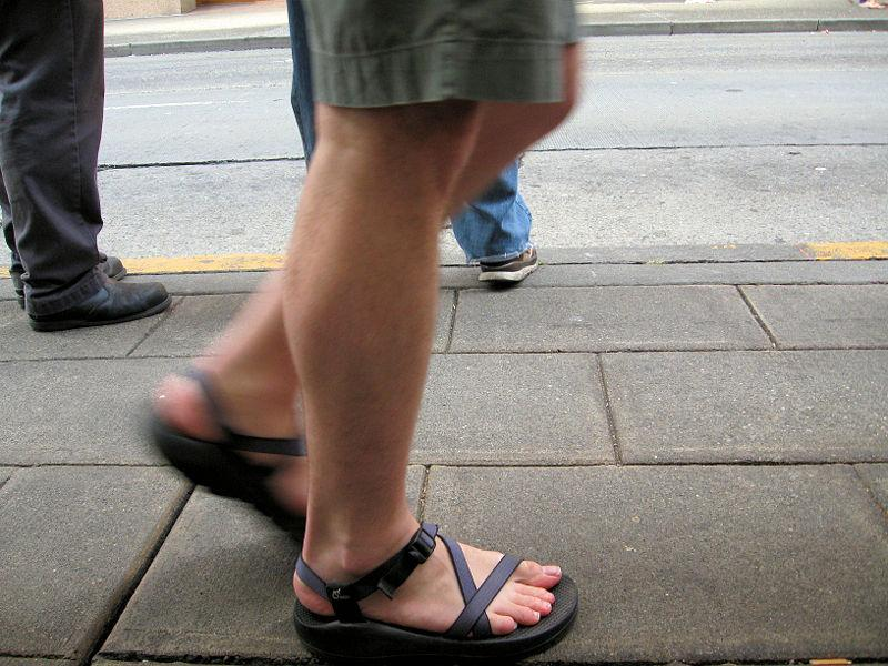 People in the U.S. are walking more often than they used to.