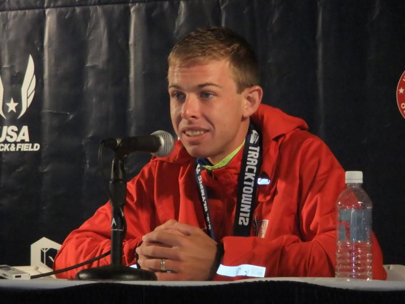 Galen Rupp after the US Olympic Trials in Eugene.