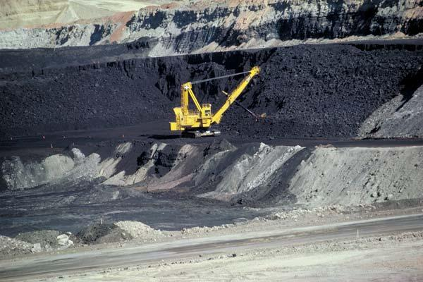 A Wyoming coal mine.