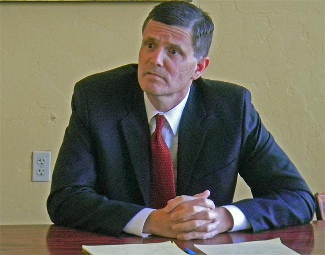 State Auditor Candidate Troy Kelley responds to questions about past allegations of business impropriety against him.