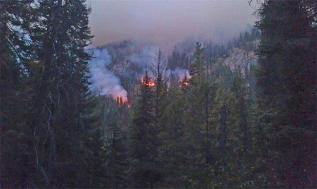 Smoke from wildfires in central Washington and Idaho is prompting warnings.