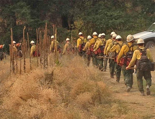 Crews are beginning to head home from the biggest wildfires in central Washington.