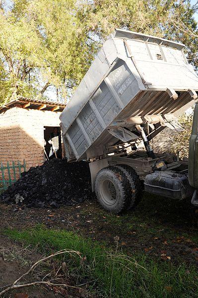 Photo of coal truck.