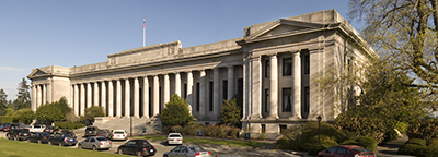 The state Supreme Court heard arguments on a challenge to Washington's supermajority requirement for tax hikes.