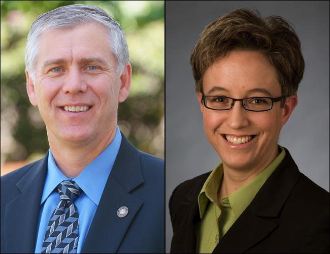 Republican Bruce Hanna and Democrat Tina Kotek are in contention to be the next Oregon House speaker.