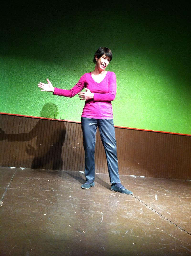 Performer Marilyn Divine says the lessons of improv 'will help you in life no matter what you do.'