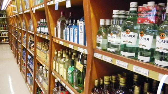Business is down dramatically at some former state-owned liquor stores in Washington.
