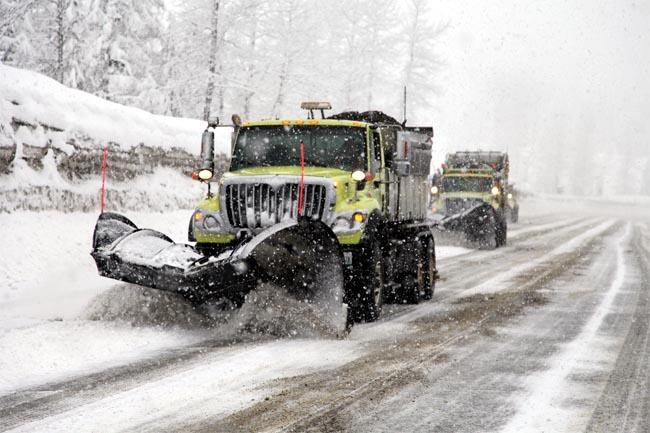 Winter is coming: the National Weather Service is predicting the first snowfall of the season this weekend in the mountain passes around the Northwest.