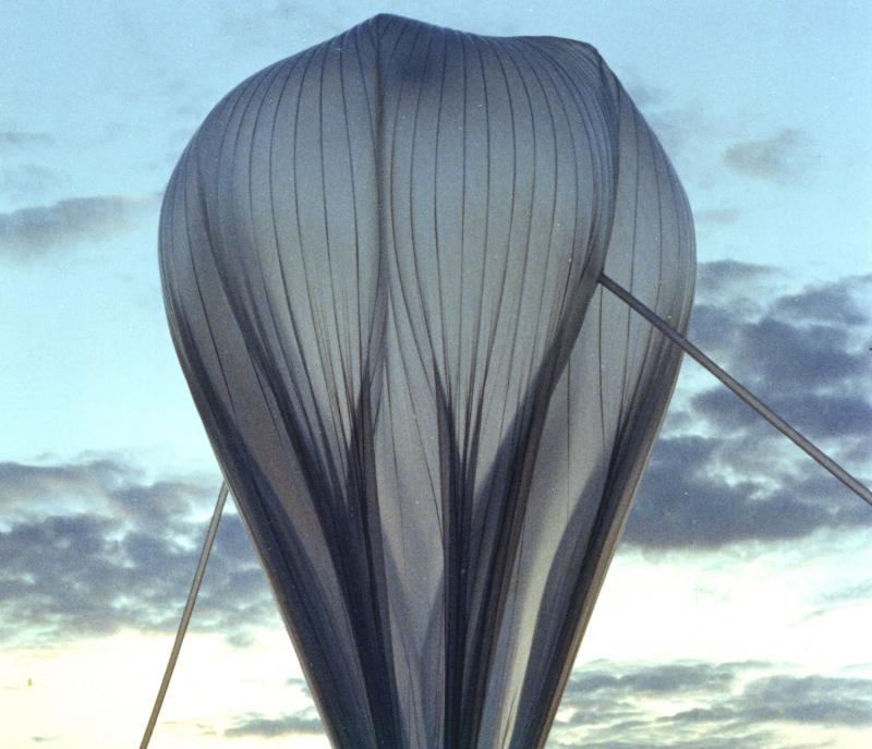 A scientific baloon used by NASA