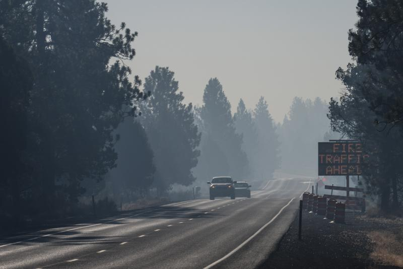 Smoke particulates are worse in some parts of the Northwest than Los Angeles.