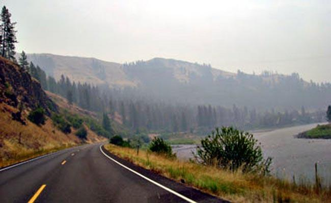U.S. 12, between Lewiston and the Forest Service Boundary in North Central Idaho.