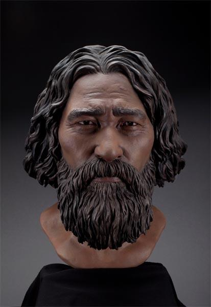 Final Kennewick Man facial reconstruction.