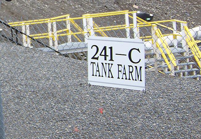 Tank AY-102 is in the 241 tank farm.