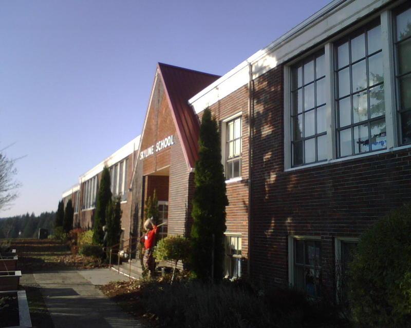 Skyline High School in Portland, Oregon.