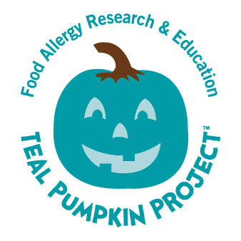 If you see a teal pumpkin on someone's porch this Halloween it means alternative treats are availble for kids with food allergies.