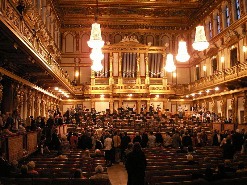 The Musikverein is home to the Vienna Philharmonic - spend New Year's Day with this world famous orchestra and NWPR on their yearly radio special.