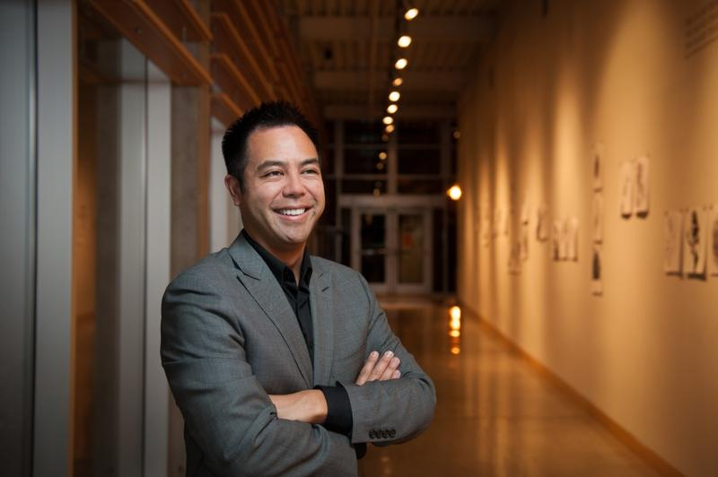 Nikolas Caoile, Director of Orchestral Activities at Central Washington University and Conductor of the Wenatchee Valley Symphony Orchestra