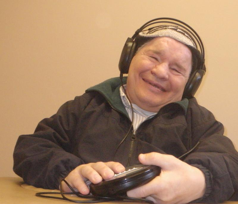 "Mary Ann's brother Greg is ""absolutely the mellowest, happiest person when he is hooked up with his headphones."""