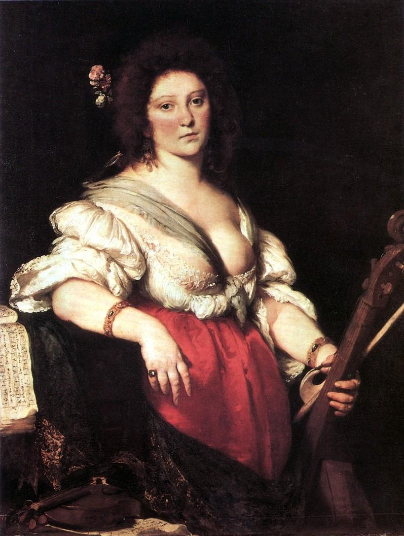 Composer/singer Barbara Strozzi is featured in one of our many specials airing during Women's History Month.