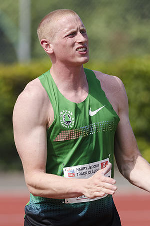 Former University of Oregon student Cyrus Hostetler qualified for the Men's Olympic javelin team monday.