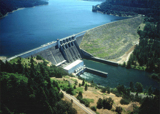 Lookout Point Dam, credit: National Weather Service