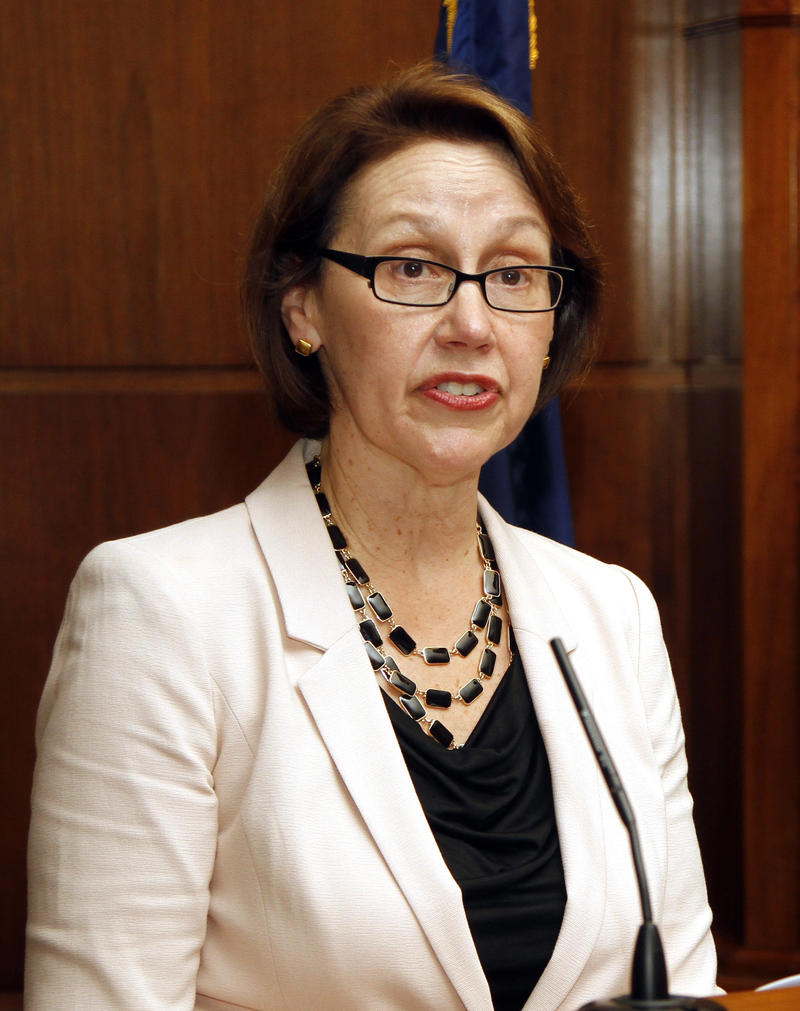 Oregon Attorney General Ellen Rosenblum condemned President Trump's executive order that freezes immigration from seven mostly Muslim countries.