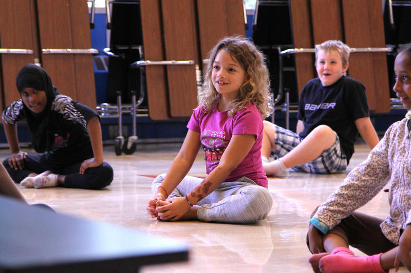 A Seattle third grader auditions for Pacific Northwest Ballet's Dance Chance program.
