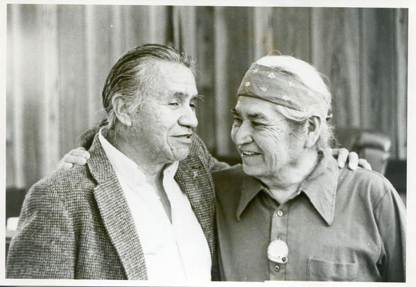 David Sohappy, right, died in 1991. He is fondly remembered by many Northwest Native Americans for being a key fighter for fishing and civil rights.