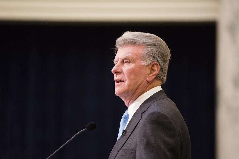 Governor Butch Otter said the government didn't consider Idaho's situation severe enough to meet the federal disaster guidelines.