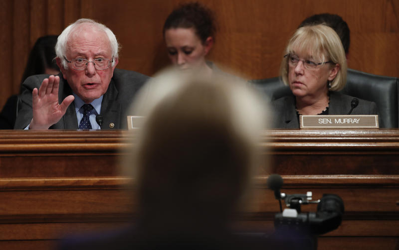 U.S. Senator Patty Murray says she and U.S.  Senator Bernie Sanders know they have a fight ahead in Congress  for a federal $15 minimum wage.