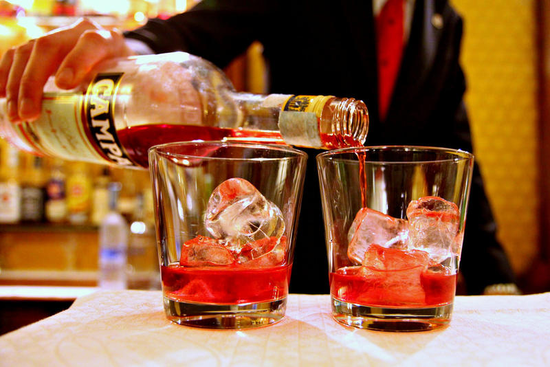 Feeling daring? Enjoy some Berlioz with a drink that reflects his personality: the Negroni.