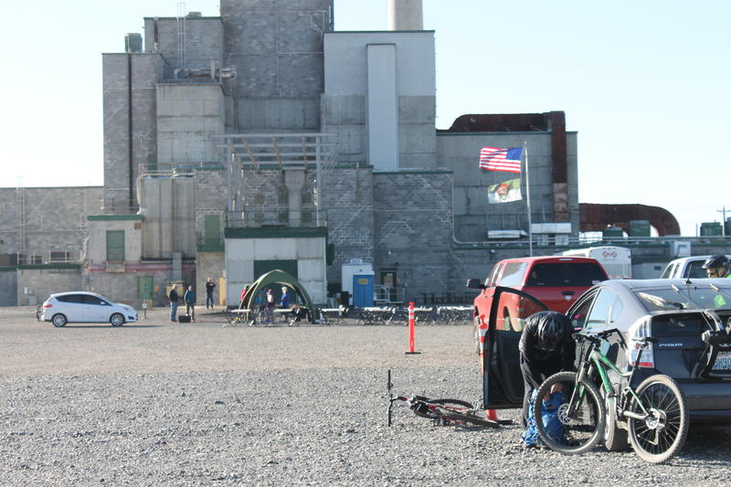 The B Reactor has been shut down since 1968 but now serves as a historical monument. For one day of the year, it also serves as part of a recreational area for bikers to enjoy.